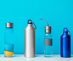 Botellas publicitarias