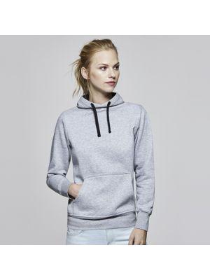 Sudaderas capucha roly urban mujer de algodon con publicidad vista 1