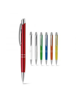 Lápices y portaminas marieta metalic pencil de metal con publicidad vista 1