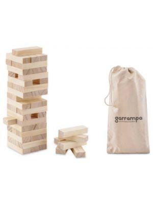 Barajas y juegos de mesa pisa juego torre de madera de varios materiales vista 1