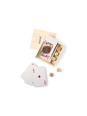 Barajas y juegos de mesa set juegos pelkat de madera vista 1