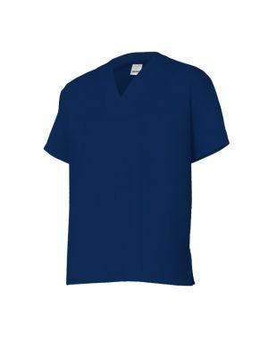 Casacas sanitarias velilla camisola manga corta industria alimentaria de algodon para personalizar vista 1