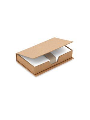 Notas adhesivas legu de cartón ecológico con impresión vista 1