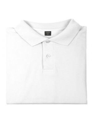 Polos manga corta bartel blanco de 100% algodón para personalizar vista 1