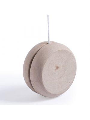 Juguetes y puzzles yoyo cretium de madera con publicidad vista 1
