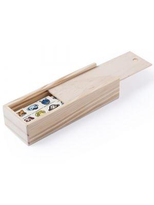 Barajas y juegos de mesa dominó kelpet de madera vista 1
