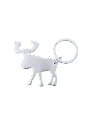 Llaveros forma animales pudox de metal vista 1