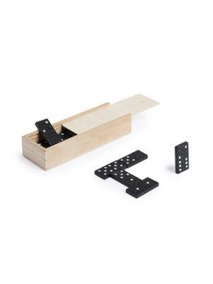 Barajas y juegos de mesa dominó prakon de madera vista 1
