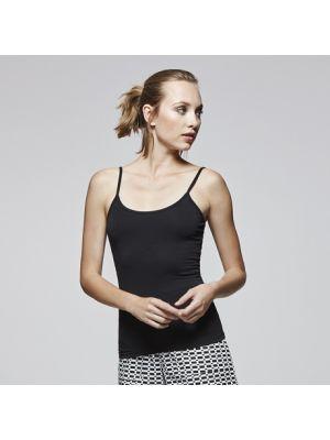Camisetas tirantes roly carina mujer de algodon con impresión vista 1