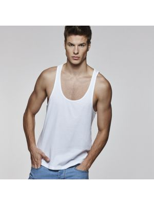 Camisetas tirantes roly cyrano de 100% algodón para personalizar vista 1