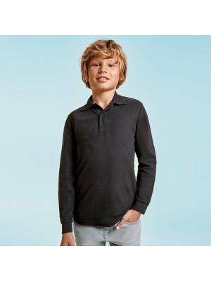 Polos manga corta roly estrella ls niño de 100% algodón con logo vista 1