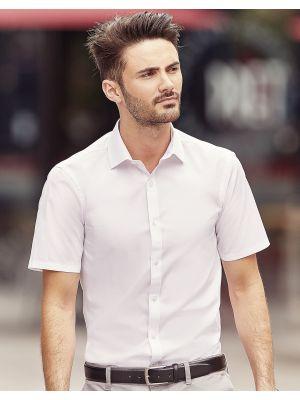 Camisas manga corta russell ajustada manga corta ultimate hombre con logo vista 2