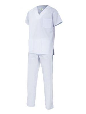 Casacas sanitarias velilla conjunto pijama de algodon vista 1