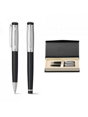 Bolígrafos roller orlando de metal con impresión vista 8