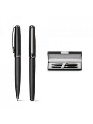 Bolígrafos roller imperio de metal con publicidad vista 7