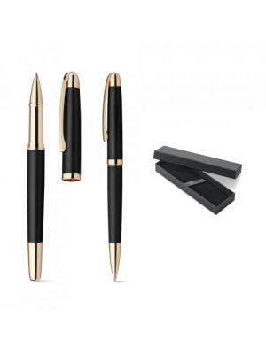 Bolígrafos roller ezekiel set de metal para personalizar vista 6