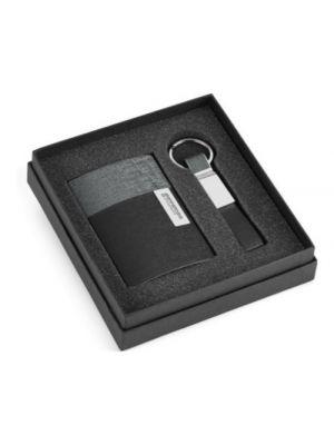 Llaveros con placa travolta de polipiel para personalizar vista 1