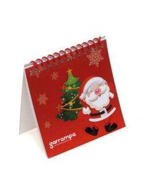 Navidad erzu. cuaderno para colorear de cartón vista 1