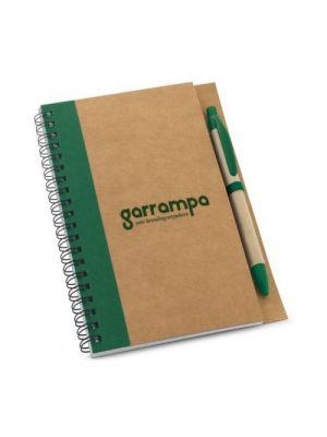 Cuadernos con anillas asimov de papel ecológico con impresión vista 1