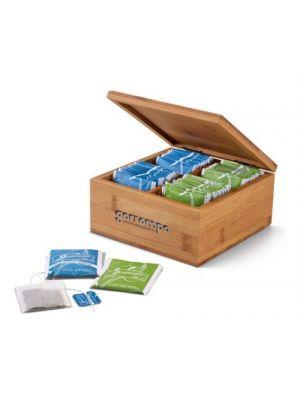 Decoración arnica. caja de infusiones de bambú ecológico vista 1