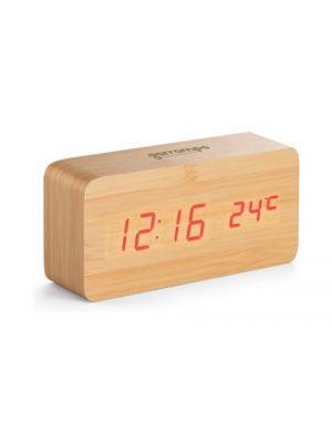 Relojes sobremesa darwin de mdf con impresión vista 1