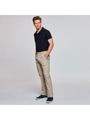 Pantalones de hostelería roly ritz de algodon con impresión vista 1