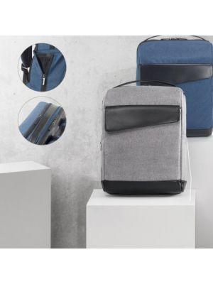 Mochilas para ordenador branve motion backpack de polipiel para personalizar vista 6