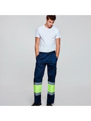 Pantalones reflectantes roly soan de algodon con impresión vista 1