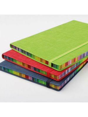 Libretas con banda elastica bergson con impresión vista 1