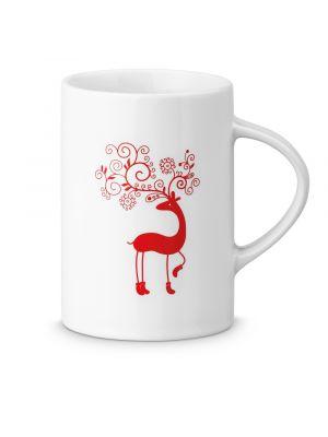 Navidad jude. taza de cerámica con impresión vista 1