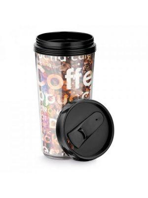 Vasos para llevar werner de plástico para personalizar vista 1