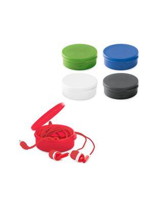 Auriculares botón germain de plástico para personalizar vista 1