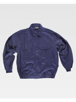 Chaquetas y cazadoras de trabajo workteam cazadora cuello camisero 2 bolsillos de 100% algodón vista 1