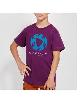 Camisetas manga corta roly dogo premium niño de 100% algodón para personalizar vista 1