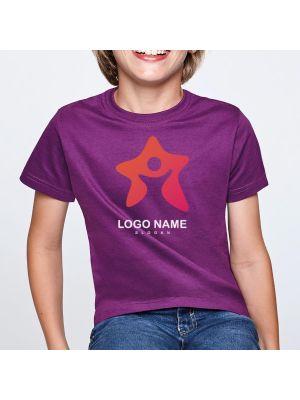 Camisetas manga corta roly beagle niño de 100% algodón con publicidad vista 1