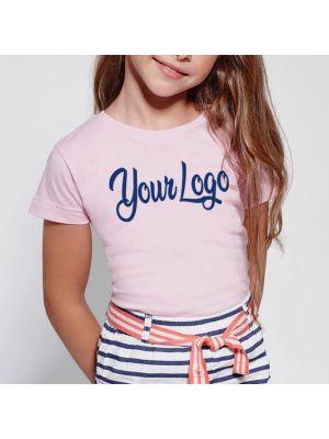 Camisetas manga corta roly jamaica mujer niño de 100% algodón con impresión vista 1