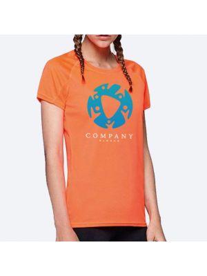 Camisetas técnicas roly barain mujer de poliéster vista 1