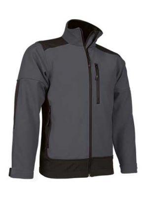 Ropa térmica para trabajar valento chaqueta valento softshell saponi de lycra con impresión vista 1