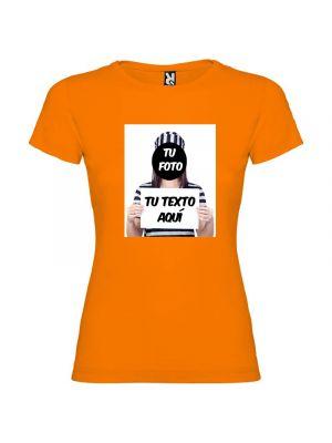 Camisetas despedida mujer para fiestas de despedida con diseño de fugitiva 100% algodón para personalizar vista 1