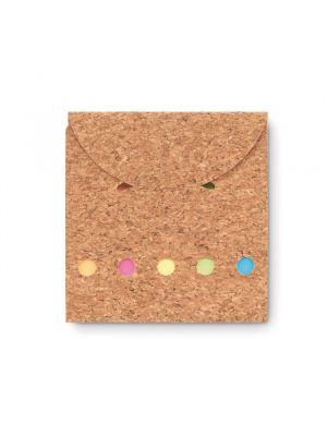 Notas adhesivas foldcork de papel vista 1