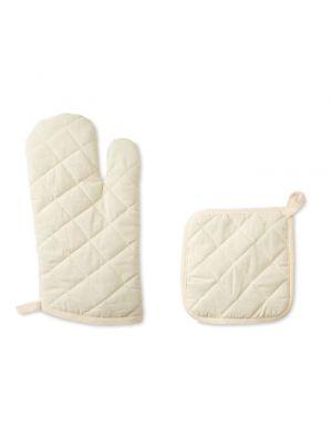 Paños y manoplas mitty de 100% algodón para personalizar vista 1