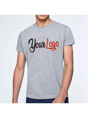Camisetas manga corta roly atomic 150 de 100% algodón vista 2