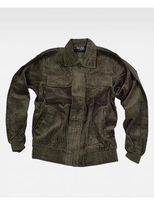 Chaquetas y cazadoras de trabajo workteam cazadora de pana de 100% algodón vista 1