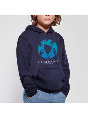 Sudaderas capucha roly capucha niño de algodon con logo vista 1