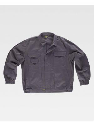 Chaquetas y cazadoras de trabajo workteam cazadora algodon cuello camisero de 100% algodón vista 1