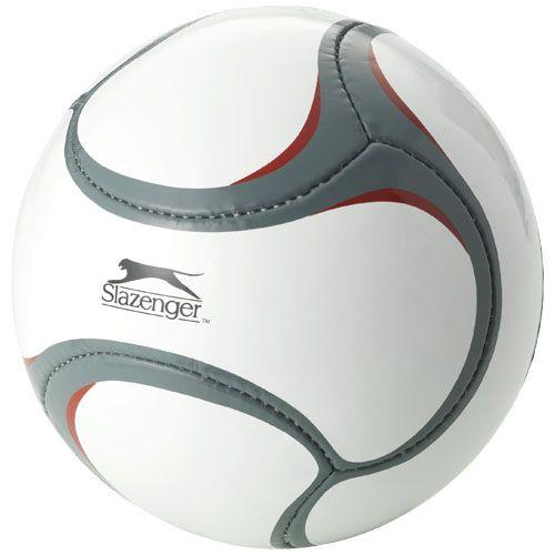 Complementos deportivos balón de fútbol 6 paneles libertadores de latex con publicidad vista 1