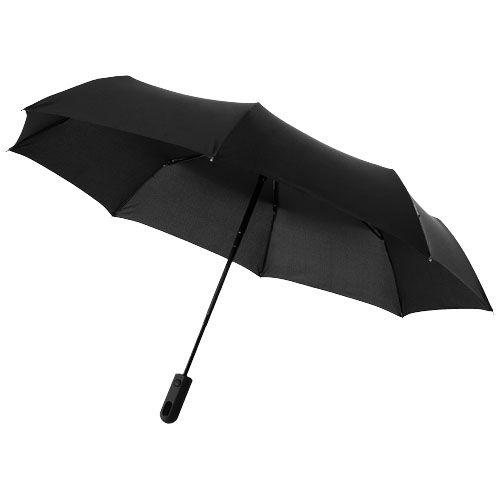 Paraguas clásicos automatic 3 sections 21,5 de poliéster con publicidad vista 1