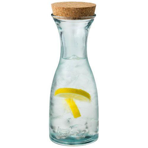 Vasos cocina bottle de corcho ecológico con impresión vista 1