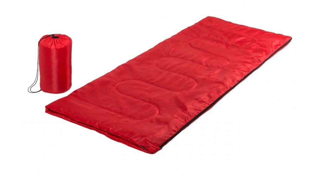Material trekking saco dormir calix con publicidad vista 1