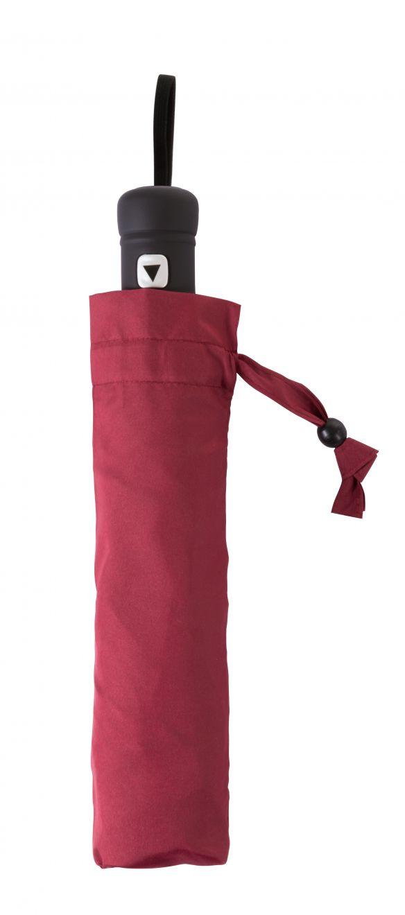 Paraguas plegables hebol de plástico con publicidad vista 1